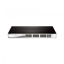 D-Link Switch Layer 2 Smart Managed 28 Port - DGS-1210-28